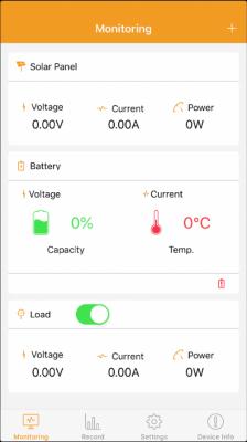 SRNE Bluetooth App