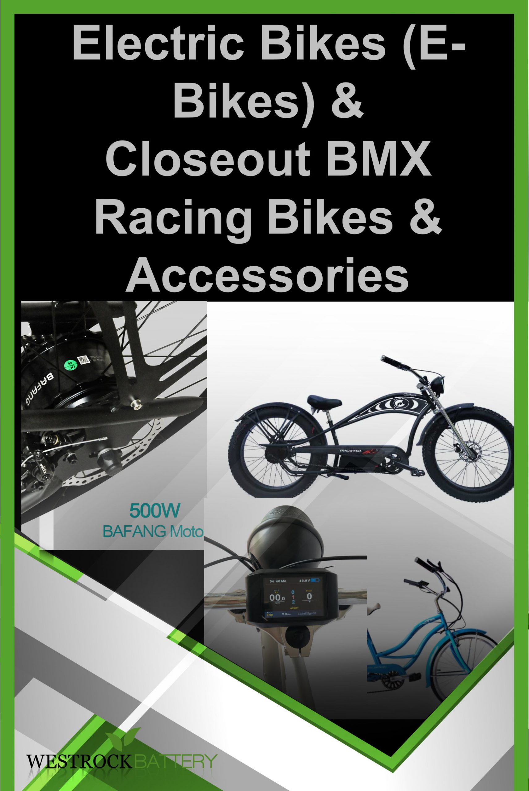 Micargi E-Bikes, Mongoose And DK BMX Racing Bikes