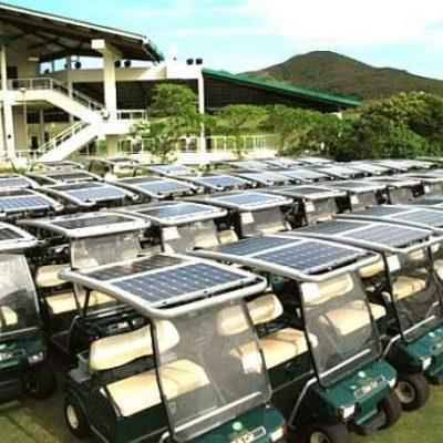 On Board Solar Golf Cart Charging Kits